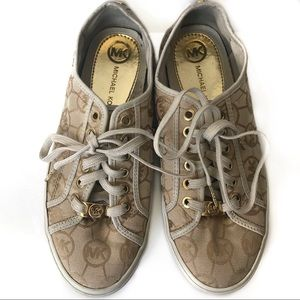 Michael Kors Monogram Canvas Sneaker